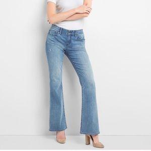 * GAP * boot cut long & lean denim jeans  GUC
